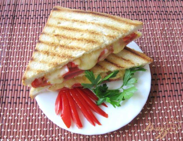 рецепты горячих бутербродов на сковороде с фото