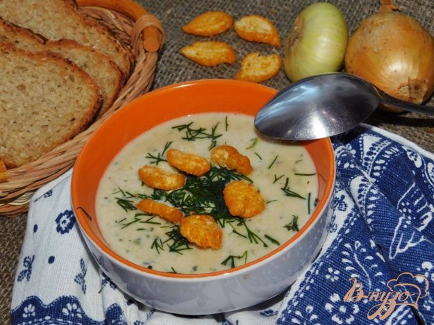 фото рецепта: Суп-пюре с кабачками
