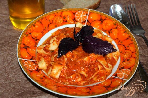фото рецепта: Тальятелле с острым томатным соусом и сыром