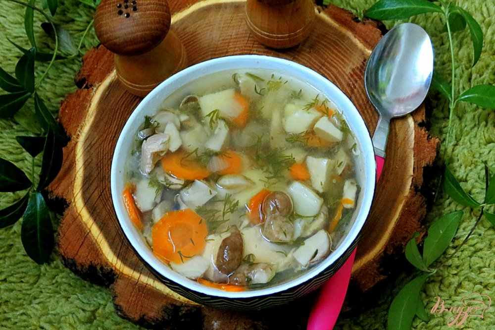 Подробней о грибном супе  главное, вовремя запасти связку сухих грибов, и грибной суп из сушеных грибов с картофелем порадует вас своим неподражаемым ароматом.