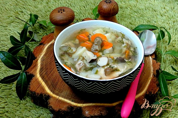 фото рецепта: Суп из белых грибов