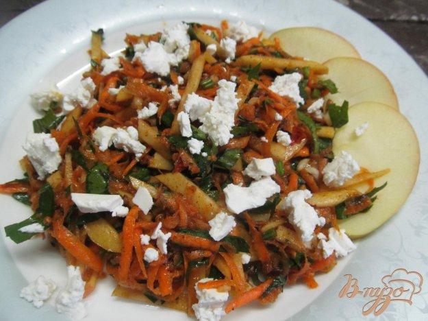фото рецепта: Морковный салат с сыром