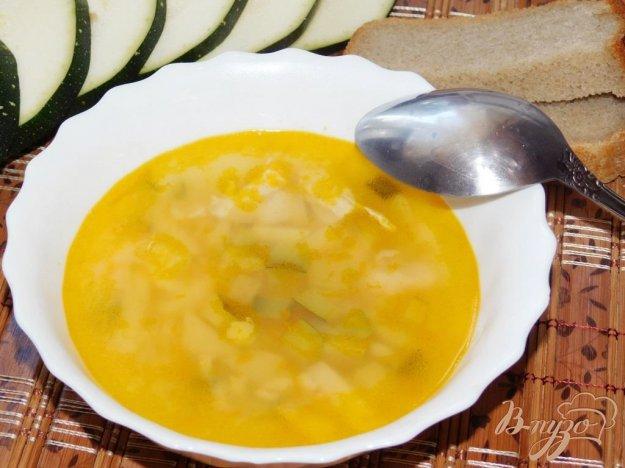 фото рецепта: Куриный суп с кабачками и булгуром
