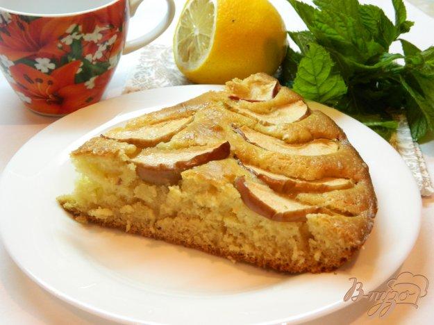 фото рецепта: Быстрый пирог с яблоками