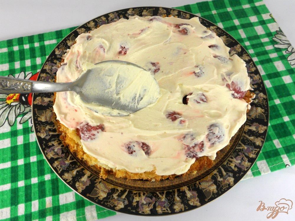 Пирожные со взбитыми сливками пошаговый рецепт с фото