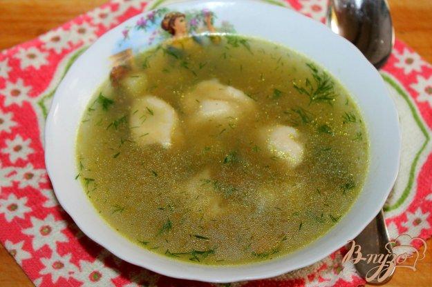 фото рецепта: Картофельный суп с пельменями