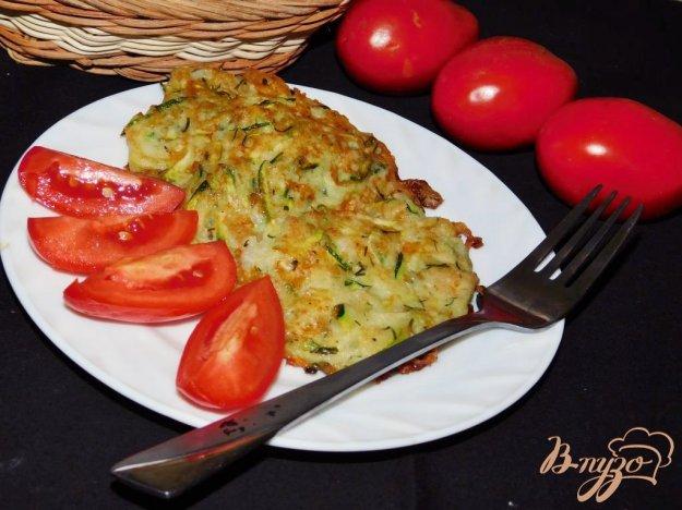 фото рецепта: Кабачковые оладьи с сыром
