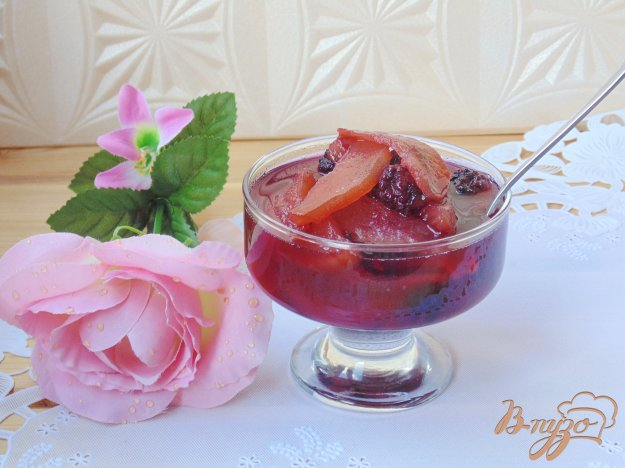фото рецепта: Варенье из груш с ежевикой