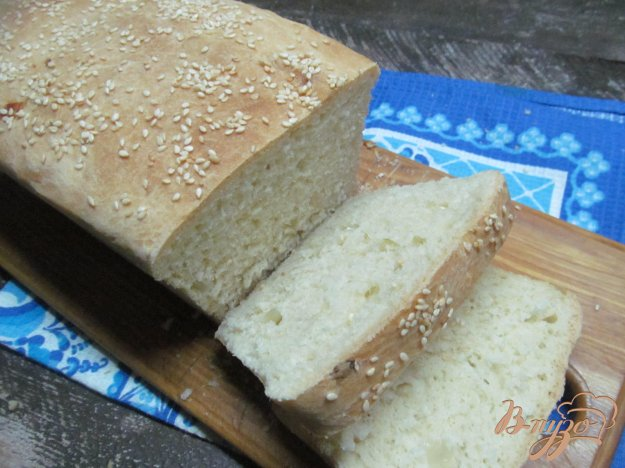 фото рецепта: Луковый хлеб на сливочном масле