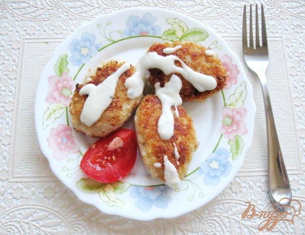 фото рецепта: Котлеты с белым соусом