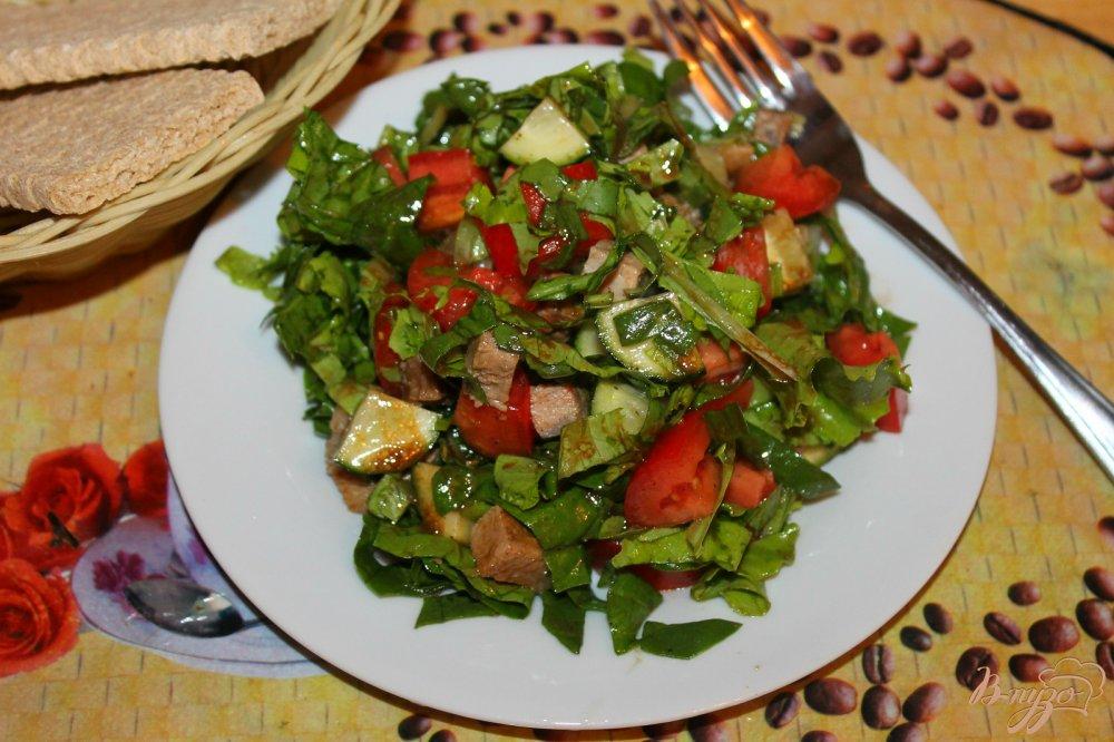 шпинат с овощами рецепт-хв1