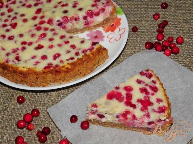 фото рецепта: Брусничный пирог