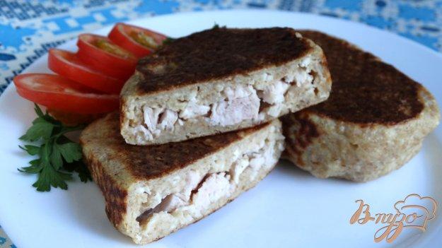 фото рецепта: Пирожки с курицей без муки