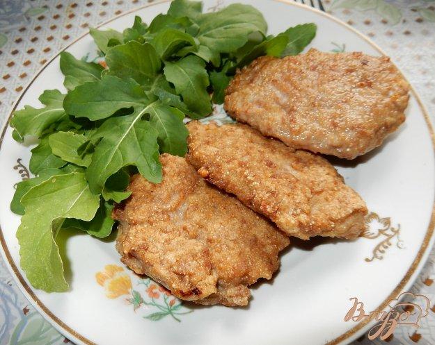 фото рецепта: Оладьи из мяса индейки