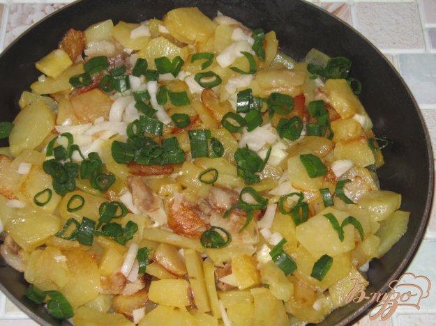фото рецепта: Картошка жареная на соленом сале