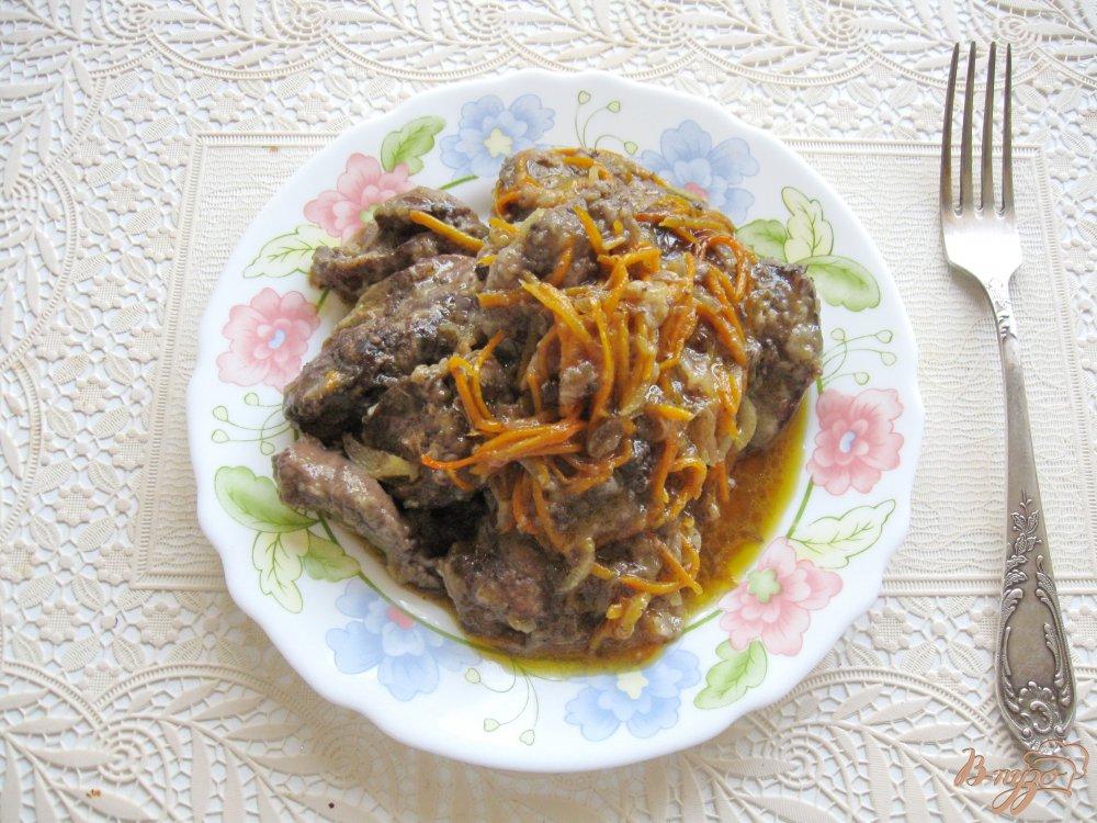 Куриная печень с апельсинами рецепт