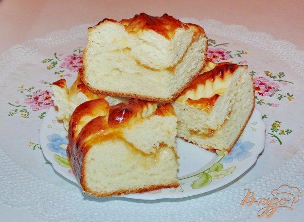 фото рецепта: Пирог с лимонным джемом