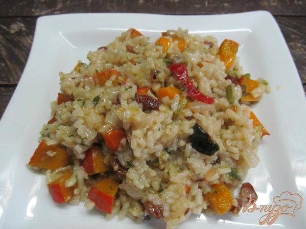 фото рецепта: Рис и тыквой и изюмом
