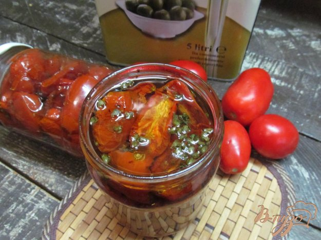 фото рецепта: Печеные помидоры - заготовка