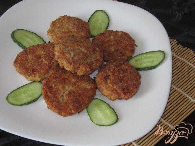 фото рецепта: Гречаники с куриной грудкой