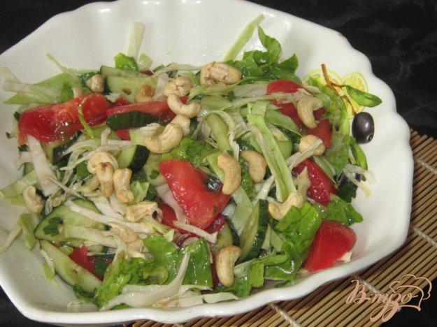 фото рецепта: Салат из овощей с кешъю