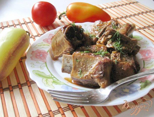 фото рецепта: Свиные ребрышки в соевом соусе