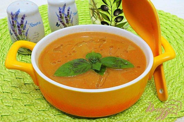 фото рецепта: Суп пюре из красной чечевицы