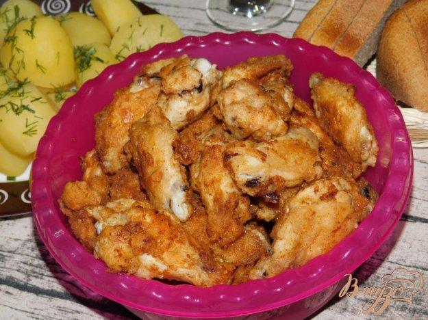 фото рецепта: Куриные крылышки в панировке