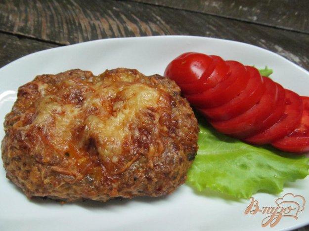 фото рецепта: Лодочки из мясного фарша с грибами и сыром