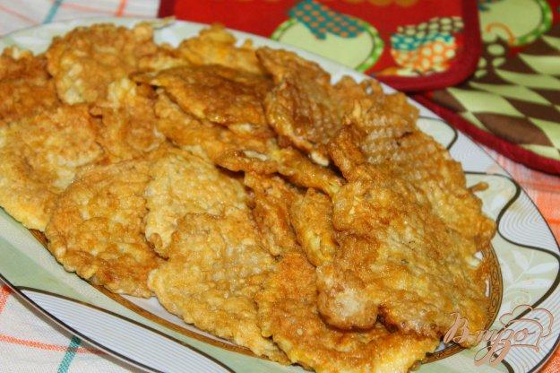 фото рецепта: Вафельные бризоли с мясом и кабачком