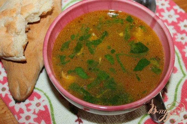 фото рецепта: Суп с кабачком и куриной тушенкой