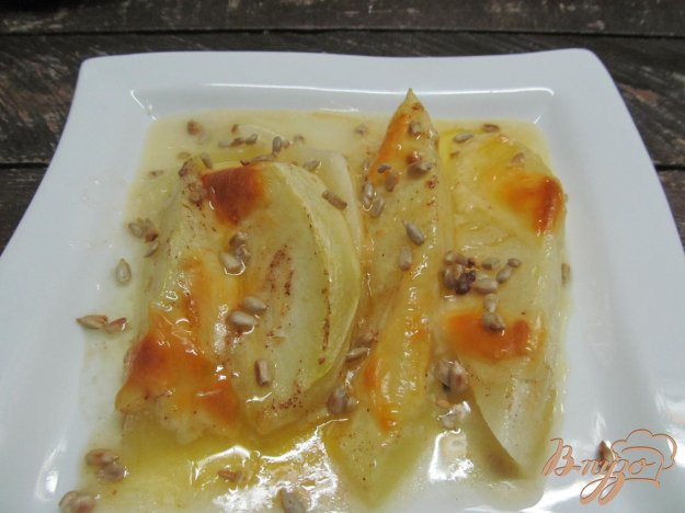фото рецепта: Запеченная дыня с сыром моцарелла