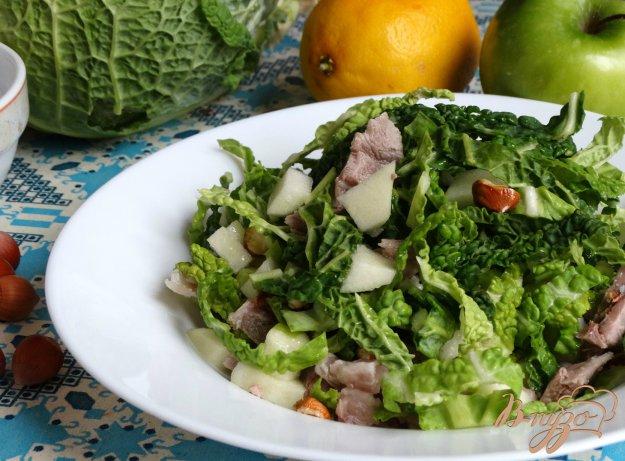фото рецепта: Салат Зеленая птица
