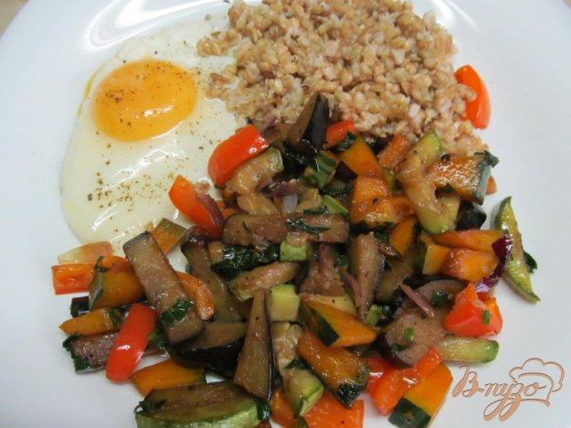 фото рецепта: Овес с овощами на завтрак