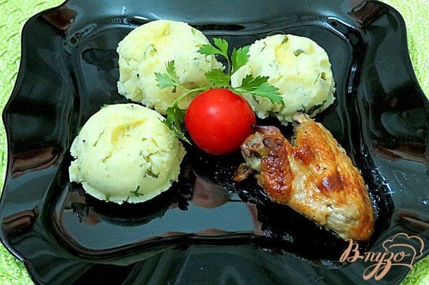 фото рецепта: Базиликово - картофельное пюре