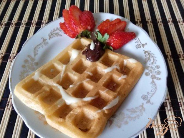 фото рецепта: Хрустящие вафли на подсолнечном масле