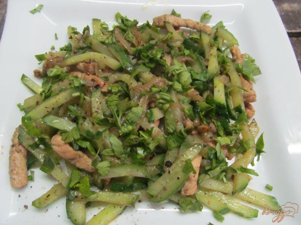 салат звезда ташкента рецепт с огурцом