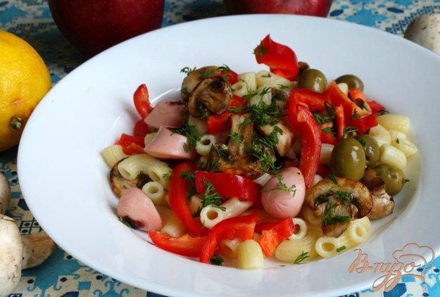 фото рецепта: Итальянский салат с пастой