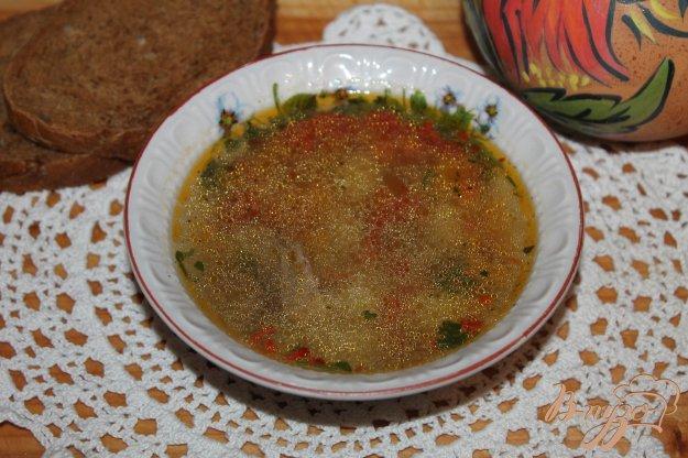 фото рецепта: Суп с тыквой, мясом и субпродуктами