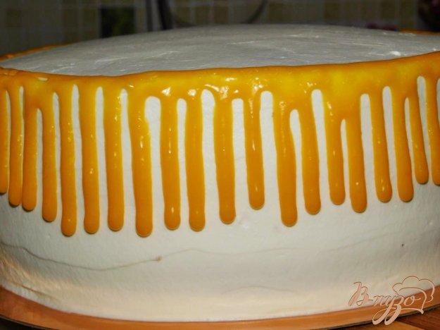 фото рецепта: Цветная глазурь для торта