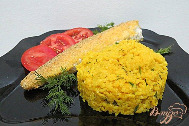 фото рецепта: Рис с куркумой и чесноком