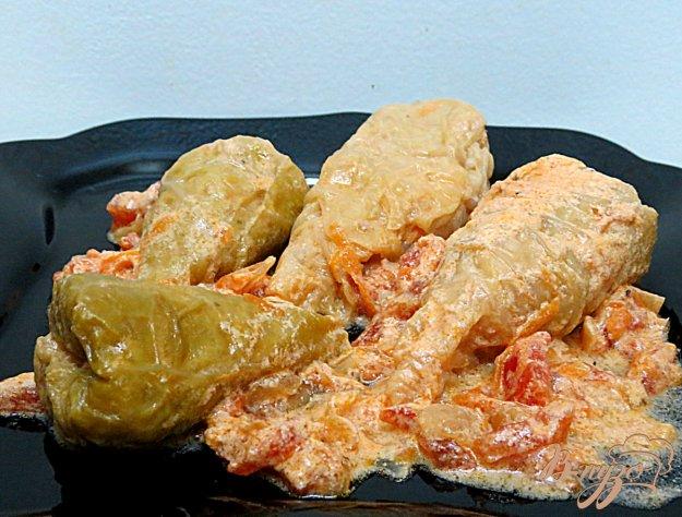фото рецепта: Голубцы из савойской капустой ( с бонусом)