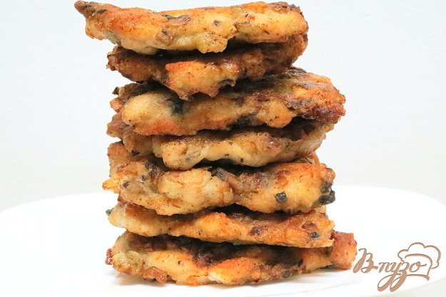 фото рецепта: Куриные рубленые котлеты с грибами