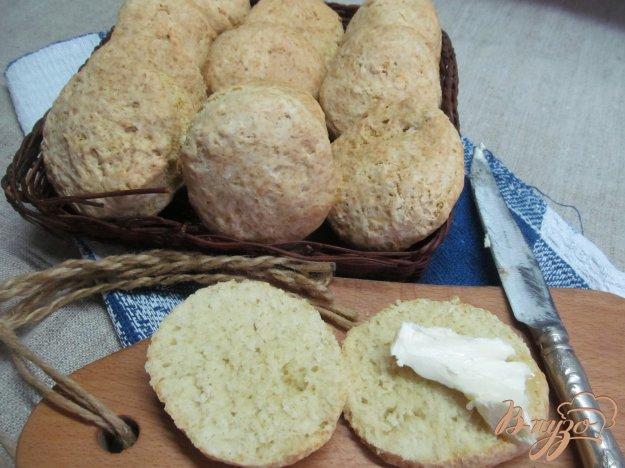 фото рецепта: Закусочные булочки на соде
