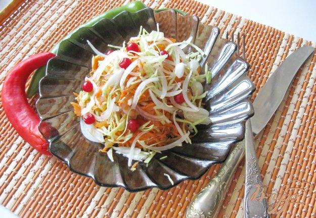 фото рецепта: Салат овощной микс с клюквой