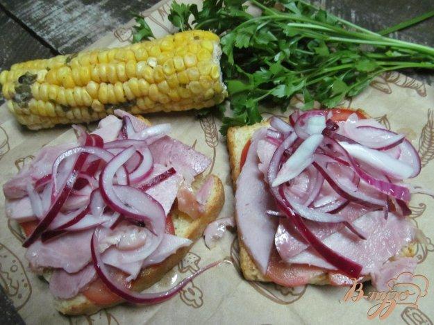 фото рецепта: Сэндвич по техасским мотивам