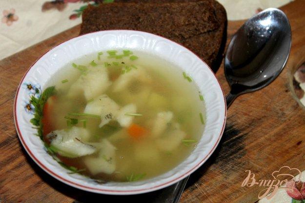 фото рецепта: Картофельный суп с белой рыбой