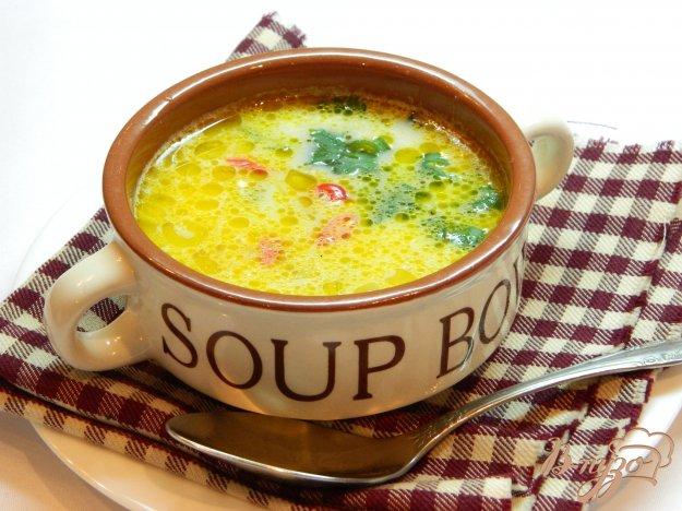 фото рецепта: Грибной суп с острым перцем