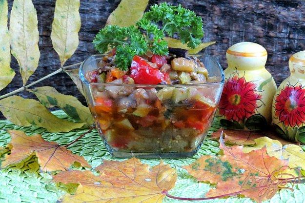 фото рецепта: Кабачково баклажанная икра