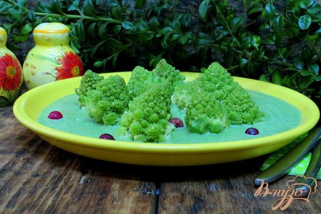 фото рецепта: Капуста романеско под шпинатным соусом